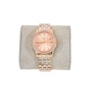 Michael Kors Mini Ritz Crystal Rose Gold Watch